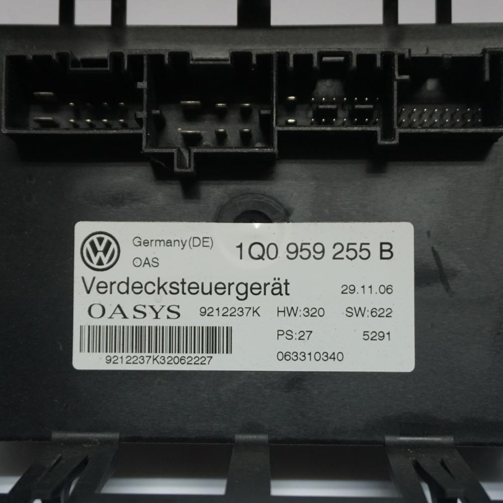 Steuergerät 1Q0959255B 9212237K Volkswagen OASYS VW EOS ⭐⭐⭐⭐⭐